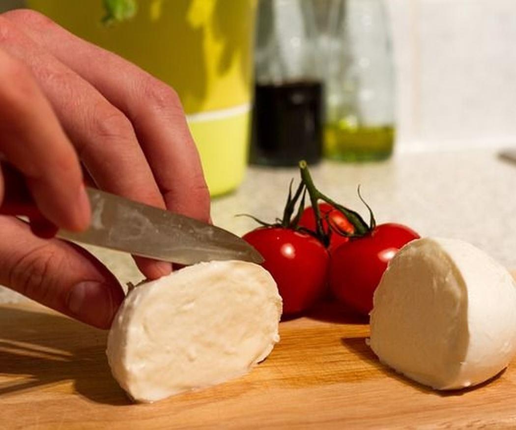 La mozzarella, un gran queso italiano