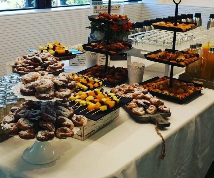Desayunos y cafés: Menús de Catering Doménico