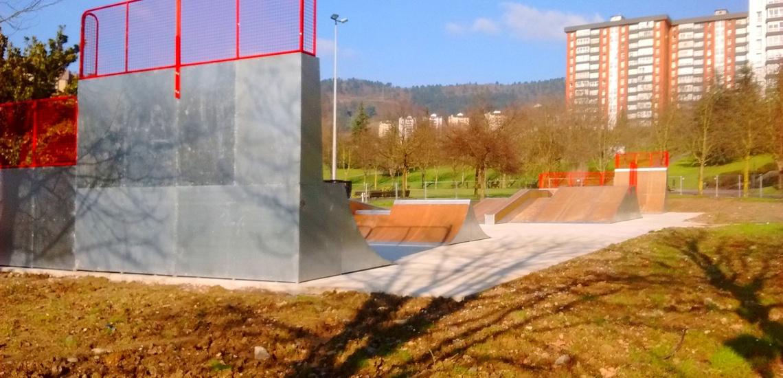 Construccion de pistas de skate