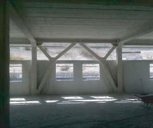 Mortero de lana de roca proyectado en estructuras Empresa de Ignifugos Madrid Sella2