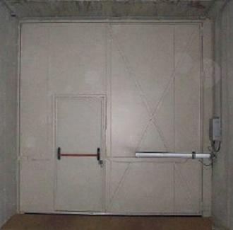 Puertas Batientes cortafuegos grandes dimensiones Farem Fenix
