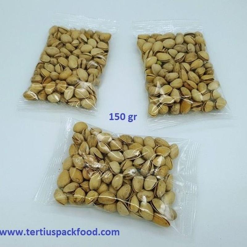 Envasado conformado tipo almohadilla 150 gr