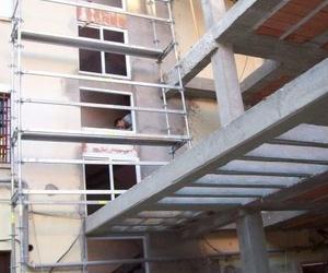 Construcción de la fachada