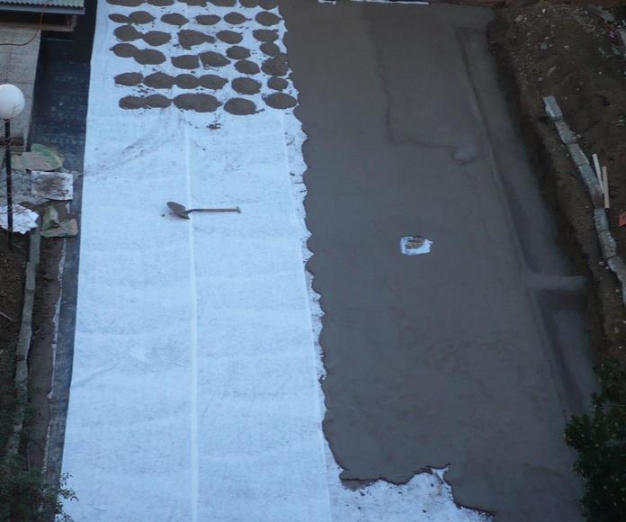 Impermeabilización con solado: Servicios de Limpiezas Colima