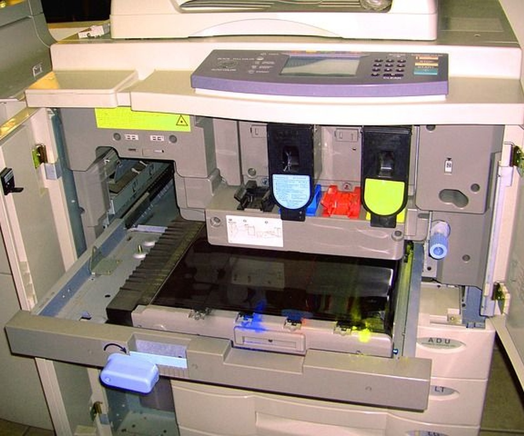 Los dos tipos de fotocopiadoras