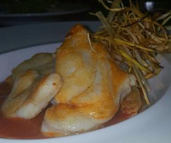 Para compartir: Carta de Restaurante La Manduca