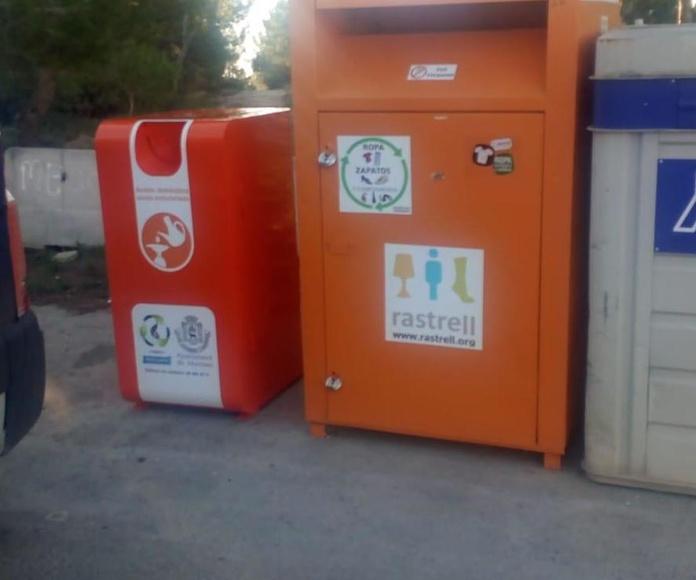 contenedores aceite usado Manises