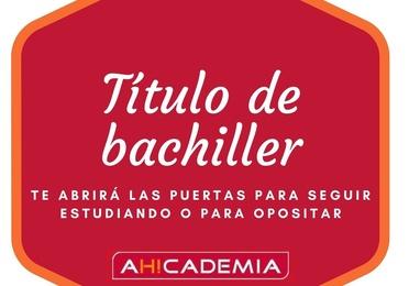TÍTULO BACHILLER