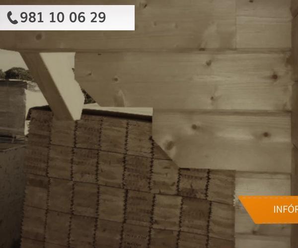 Casas de madera Lugo | Grupo Lince