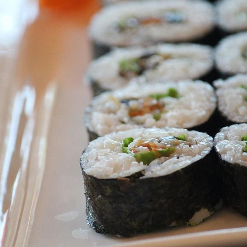 Maki: Carta de Sushi Time Buffet Libre