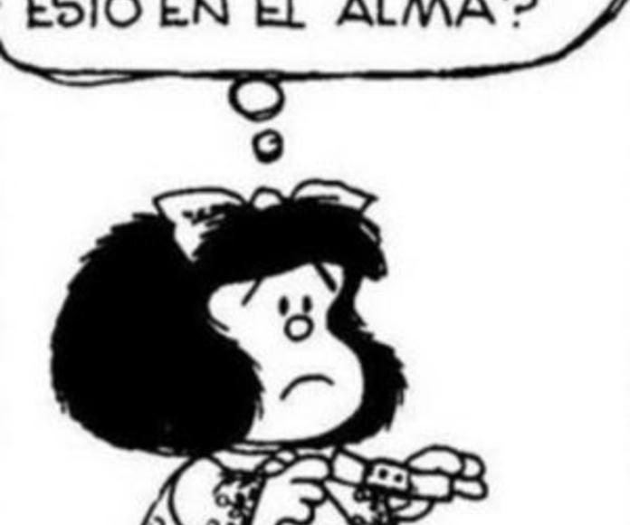 Mafalda tirita