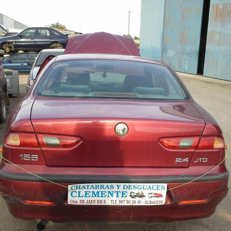 Alfa 156 en Desguaces Clemente Albacete