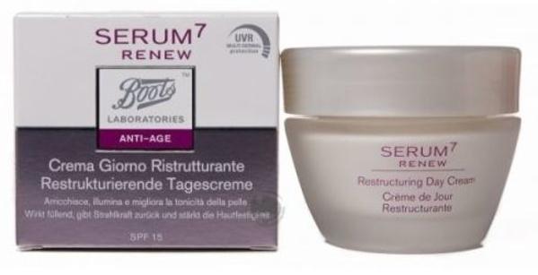 Serum 7 Antiedad crema de dia pieles jóvenes: Catálogo de Farmacia Las Cuevas-Mª Carmen Leyes