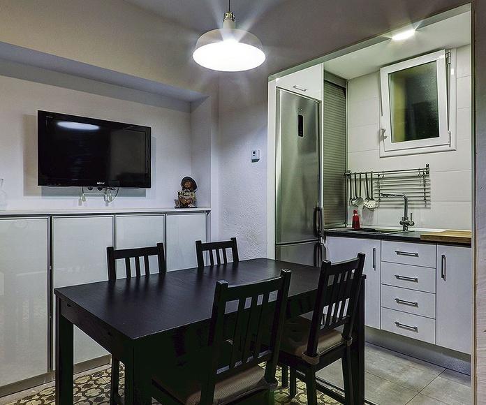 PÇU9 Reforma de comedor-cocina: Servicios y Proyectos de XTE INTERIORISMO