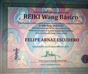 Reiki Wang, 1º Nivel