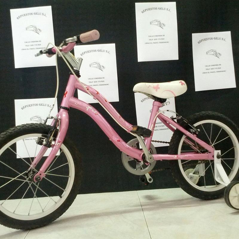 Venta de bicicletas y recambios: Productos de Repuestos Gelu,. S.L