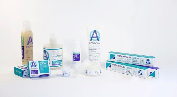 Familia productos con ozono