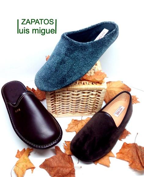 zapatillas de caballero dacha o piel : Catalogo de productos de Zapatos Luis Miguel