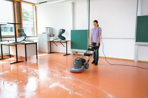 Limpieza, pulido y abrillantado de suelos