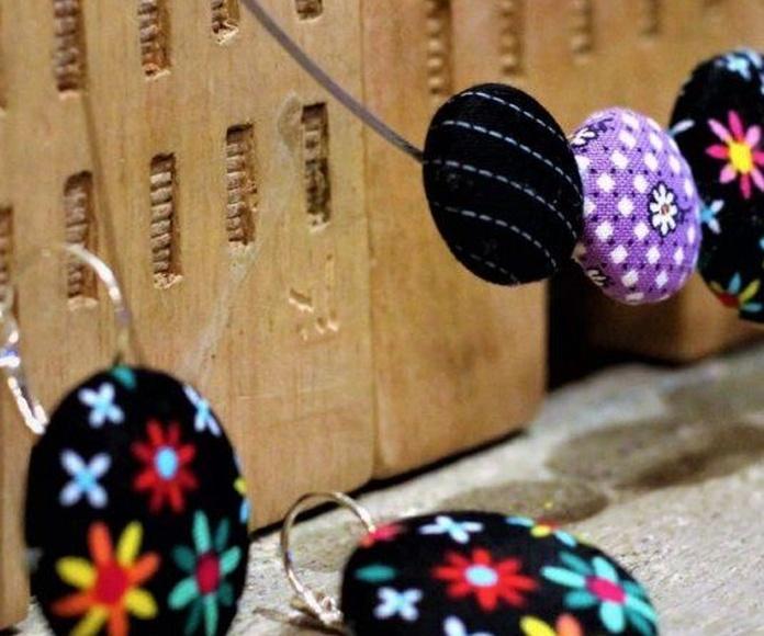 Colección primavera de Bisutería en Tela de Lira: Mis creaciones de Lira Naturaleza