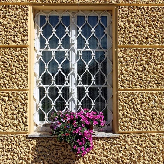 Tipos de rejas para ventanas