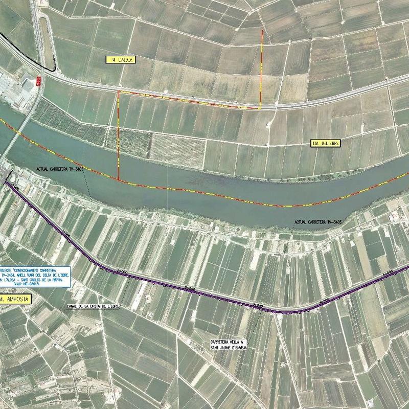 Proyecto constructivo carretera variante de Amposta: Trabajos de MasterPlan