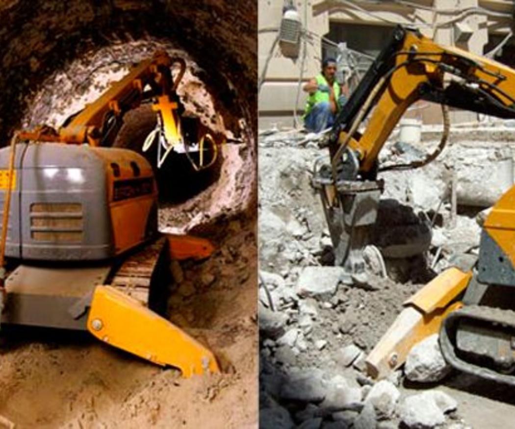 ¿En qué consiste la demolición con robot Brokk?