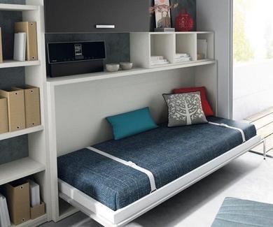 6 trucos para ganar espacio en habitaciones juveniles