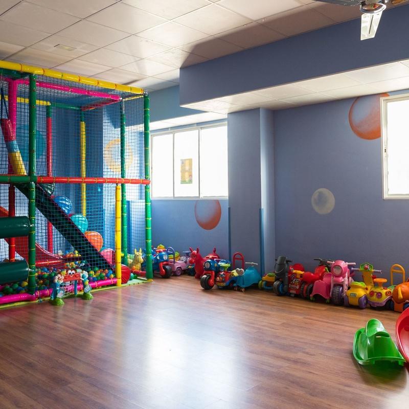 Patio interior y exterior: Centro Infantil Pompitas de Centro Infantil Pompitas