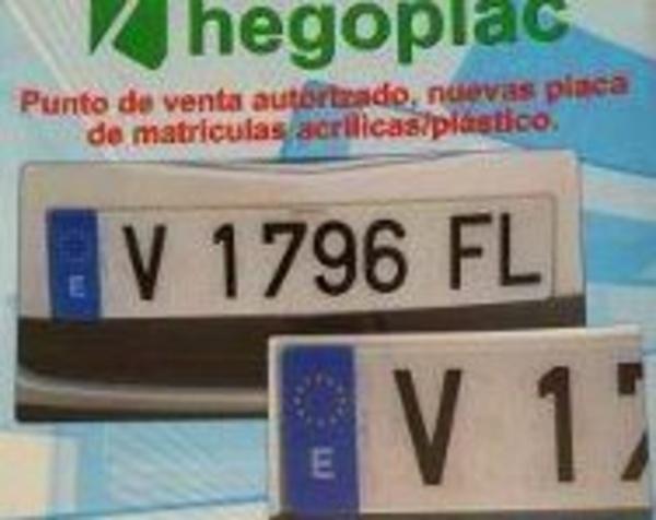 Punto de venta autorizado, nuevas placa de matrículas : Servicios de Autochapistas Marca