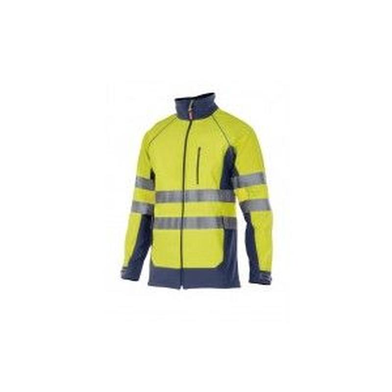 Serie 306001 / Chaqueta soft shell bicolor alta visibilidad: Nuestros productos  de ProlaborMadrid