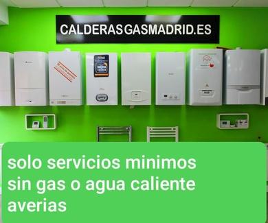 SERVICIO DE AVERIAS DE GAS,CALEFACCION,FONTANERIA