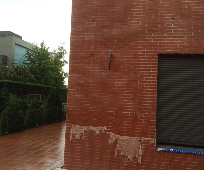 Pruebas previas de decapado en Santander-Torrelavega.