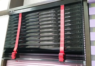 Fabricación de persianas