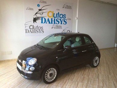 FIAT 500 LOUNGE 1.2L 69CV (COLOR NEGRO)