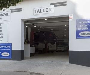 Entrada al taller en Puerto Real