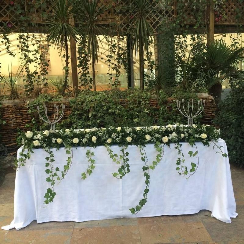 Decoración floral: Servicios de El Jardín de Butarque