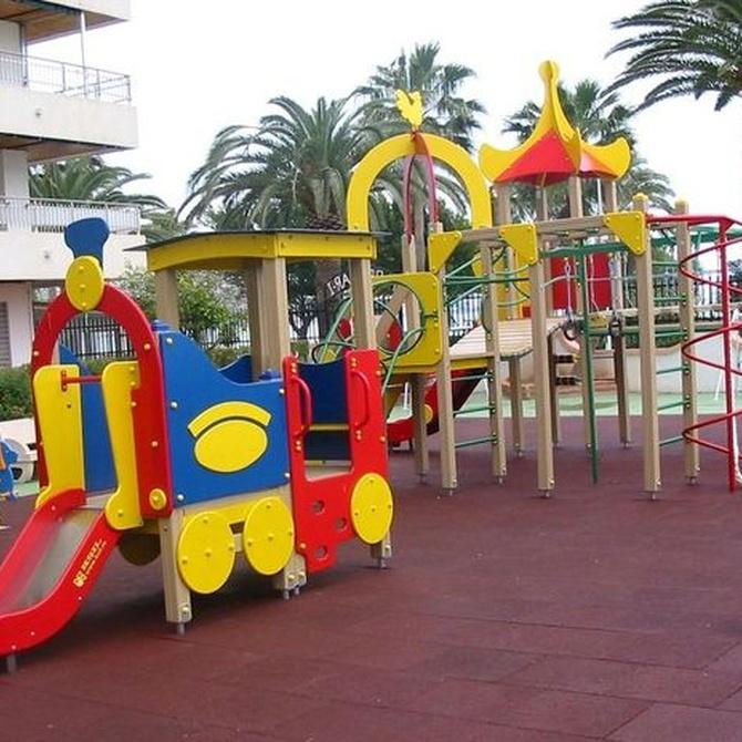 Enseña a tus hijos a comportarse con responsabilidad en los parques infantiles
