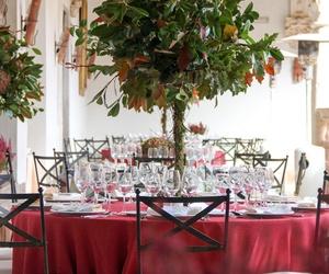 Mesa evento Monasterio de Lupiana