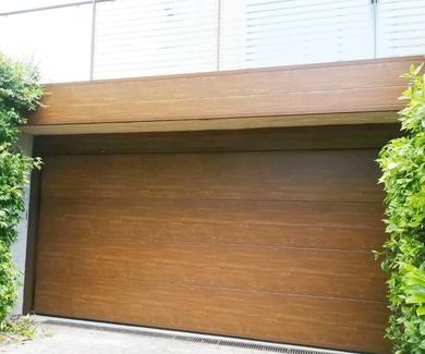 Puertas de garaje seccionales
