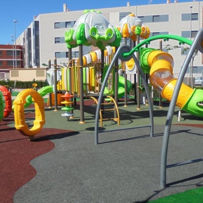 Algunos beneficios sociales de los parques infantiles