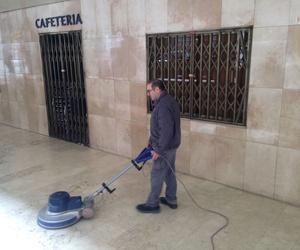Abrillantamiento y pulido de suelos
