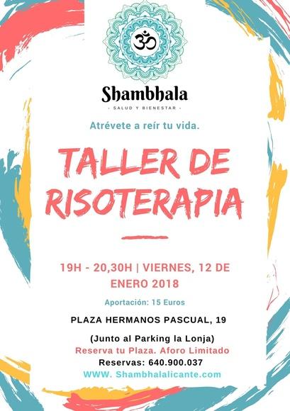 Taller Risoterapia - Viernes 12 de Enero 2018