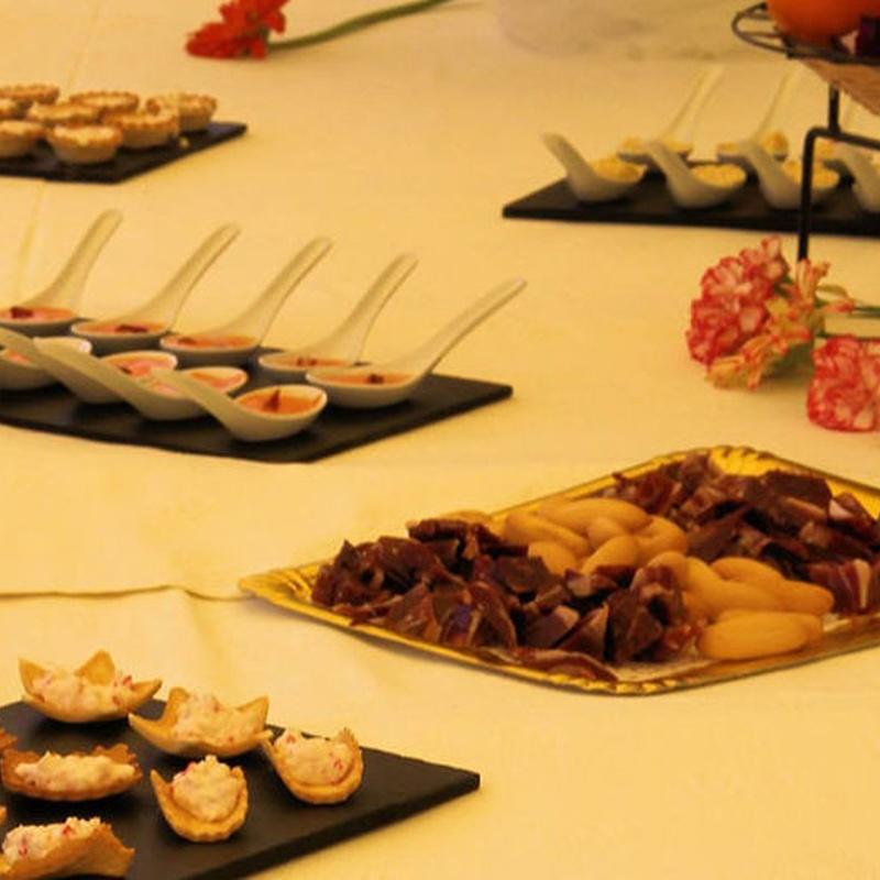 Servicio de catering: Catálogo de Celebraciones El Paraíso