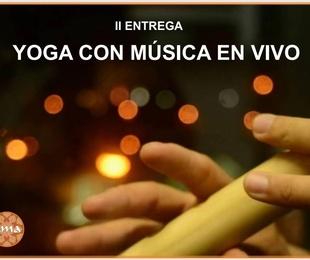 Yoga con música en vivo