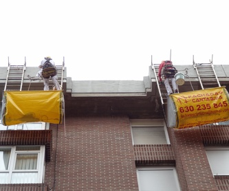 Retirada de uralita tubos de uralita trabajos verticales: Trabajos verticales Santander  de Trabajos Verticales Cantabria