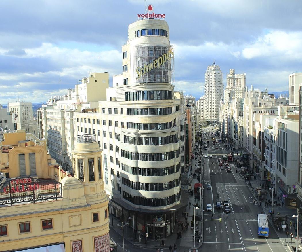 Rehabilitación de edificios en el centro de Madrid