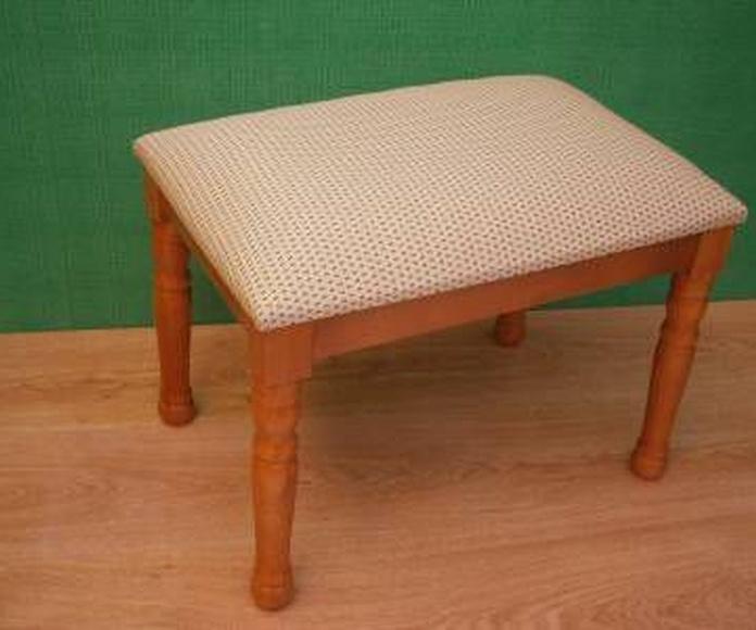 Escabeles, rosapiés, taburetes y escaleras: Productos y materias primas de Estilo 2 Bambú, S.L.