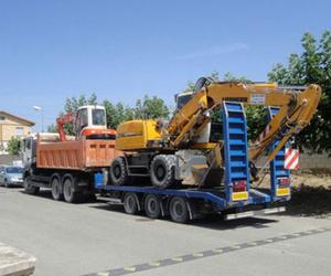 Trabajos de excavaciones en Navarra