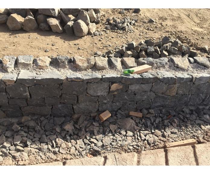 Mampostería de piedra vista